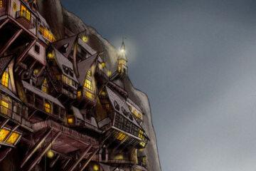 Klippenstadt Digital Art